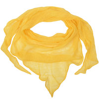 Triangle linenscarf yellow