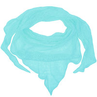 Triangle linenscarf mint