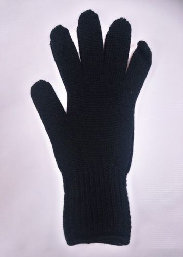 Black merinowool gloves